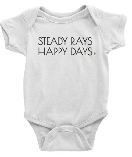 Steady Rays Happy Days Onesie 3